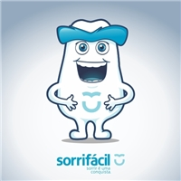 Mascote Sorrifácil, Construçao de Marca, Saúde & Nutrição