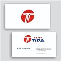 POSTO TIDA, Logo e Identidade, Tecnologia & Ciencias