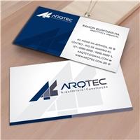 ARQTEC ARQUITETURA E CONSTRUÇAO, Logo e Identidade, Construção & Engenharia