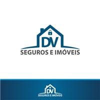 DV SEGUROS E IMOVEIS, Logo e Identidade, Imóveis