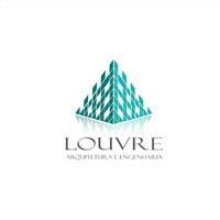 Louvre Arquitetura e Engenharia, Logo e Identidade, Construção & Engenharia