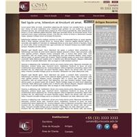 Costa Advocacia e Consultoria Jurídica, Web e Digital, Advocacia e Direito