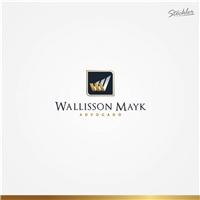 Wallisson Mayk Advogado, Logo e Identidade, Advocacia e Direito