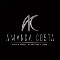 """Amanda Costa, slogan """"Consultora de Imagem e Estilo"""", Logo e Identidade, Roupas, Jóias & Assessorios"""