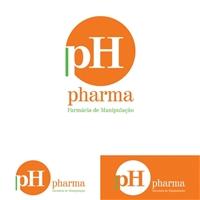ph pharma, Logo e Identidade, Saúde & Nutrição