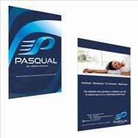 Folder Pasqual Ar Condicionado, Peças Gráficas e Publicidade, Limpeza & Serviço para o lar