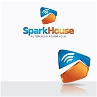 SparkHouse Automaçao Residencial, Logo e Identidade, Computador & Internet
