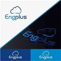 Logo para o sistema EngPlus, Logo e Identidade, Consultoria de Negócios
