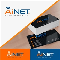 AINET, Logo e Identidade, Computador & Internet