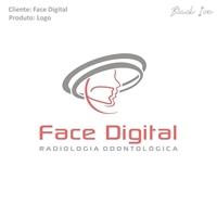 Face Digital, Logo e Identidade, Saúde & Nutrição