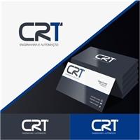 CRT ENGENHARIA E AUTOMAÇAO, Logo e Identidade, Computador & Internet