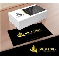IMOVCENTER - Negócios Imobiliários, Logo e Identidade, Imóveis