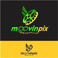Moovinpix, Logo e Identidade, Artes, Música & Entretenimento