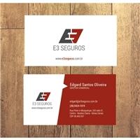 E3 Seguros, Logo e Identidade, Contabilidade & Finanças