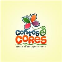 Espaço de Educaçao Infantil Contos e Cores, Logo e Identidade, Educação & Cursos