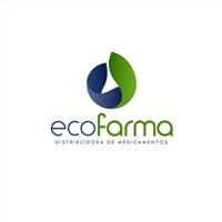 Eco Farma Distribuidora de Medicamentos, Logo e Identidade, Saúde & Nutrição