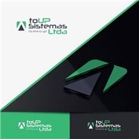 to UP Sistemas Ltda., Logo e Identidade, Computador & Internet