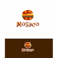 Mosaico lanches, Logo e Identidade, Alimentos & Bebidas