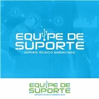 EQUIPE DE SUPORTE, Logo e Identidade, Computador & Internet