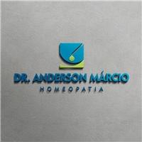 Dr. Anderson Márcio Homeopatia, Logo e Identidade, Saúde & Nutrição