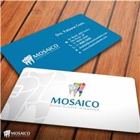 Mosaico Odontologia Integrada, Logo e Identidade, Saúde & Nutrição