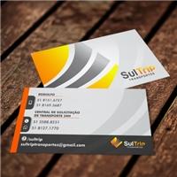 SulTrip Transportes, Logo e Identidade, Viagens & Lazer