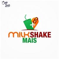 MILK SHAKE MAIS, Logo e Identidade, Alimentos & Bebidas