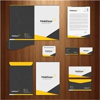 Mobilizze Marketing Digital, Logo e Identidade, Marketing & Comunicação