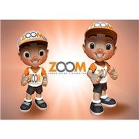 mascote ZOOM, Construçao de Marca, Marketing & Comunicação