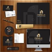 NIMBUS ARQUITETURA, Logo e Identidade, Arquitetura