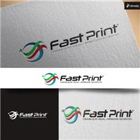 Fast Print, Logo e Identidade, Artes, Música & Entretenimento