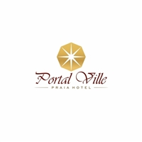 Portal Ville Praia Hotel, Logo e Identidade, Viagens & Lazer