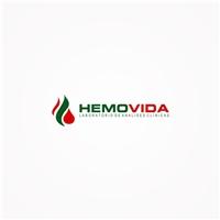 HEMOVIDA ( LABORATORIO DE ANALISES CLINICAS), Logo e Identidade, Saúde & Nutrição