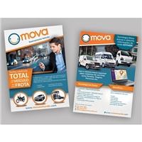 Flyer Mova, Peças Gráficas e Publicidade, Automotivo