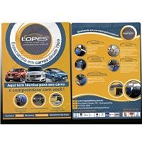 LOPES AUTO SERVICE, Peças Gráficas e Publicidade, Automotivo