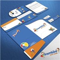 Bambini - Day care, Logo e Identidade, Educação & Cursos