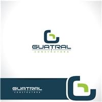 Guatral Construtora, Logo e Identidade, Construção & Engenharia
