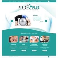 Clinica de fisioterapia Fisio Plus, Web e Digital, Saúde & Nutrição