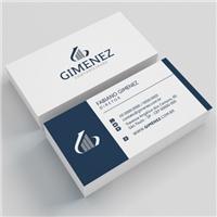 GIMENEZ SERVIÇOS CONTABEIS, Logo e Identidade, Contabilidade & Finanças