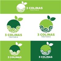 Frutaria 3 Colinas, Logo e Identidade, Alimentos & Bebidas