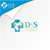 D & S Cuidadores de Pessoas, Logo e Identidade, Saúde & Nutrição