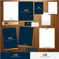 reestilizaçao da marca MVB ADVOGADOS, Logo e Identidade, Advocacia e Direito