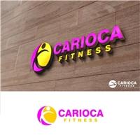 Carioca fitness, Logo e Identidade, Roupas, Jóias & Assessorios