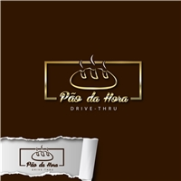 PAO DA HORA DRIVE-THRU, Logo e Identidade, Alimentos & Bebidas