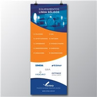 Banner Institucional, Peças Gráficas e Publicidade, Tecnologia & Ciencias