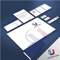 Instituto Universitario, Logo e Identidade, Educação & Cursos