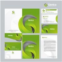 GENICA - Inovaçao Biotecnológica, Logo e Identidade, Tecnologia & Ciencias