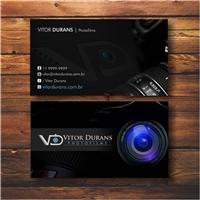 Vitor Durans Photofilms, Logo e Identidade, Artes, Música & Entretenimento