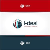 I-deal Corporate English, Logo e Identidade, Educação & Cursos