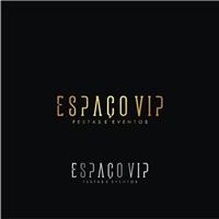 ESPAÇO VIP, Logo e Identidade, Planejamento de Eventos e Festas